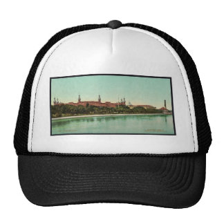 Tampa Bay Hotel classic Photochrom Trucker Hats