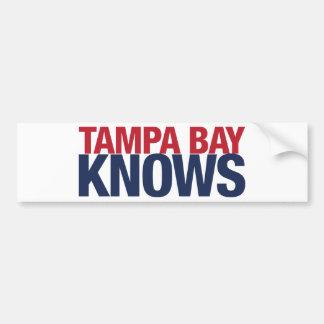 Tampa Bay Knows Bumper Sticker