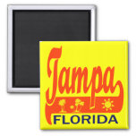 Tampa Bay, la Florida Imán De Nevera