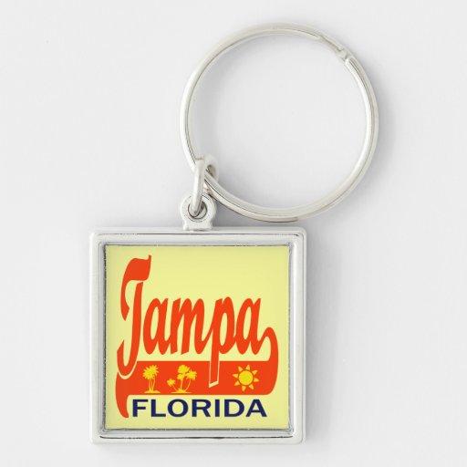Tampa Bay, la Florida Llavero Personalizado