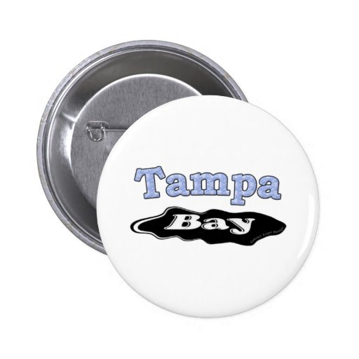 Tampa Bay Oil Spill 2 Inch Round Button