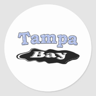Tampa Bay Oil Spill Classic Round Sticker