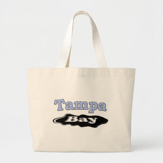 Tampa Bay Oil Spill Large Tote Bag