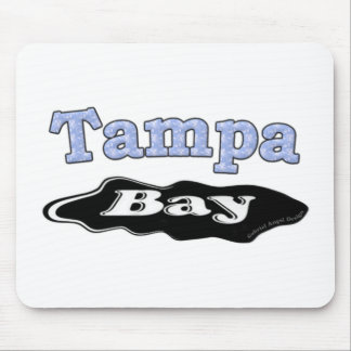 Tampa Bay Oil Spill Mouse Pad
