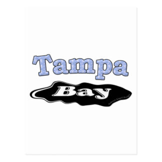 Tampa Bay Oil Spill Postcard