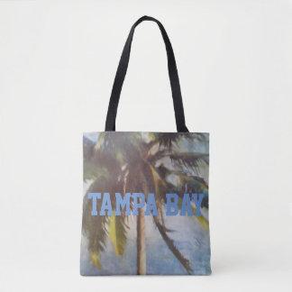 Tampa Bay Palm Tree Tote Bag