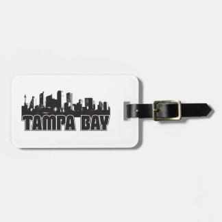 Tampa Bay Skyline Bag Tag