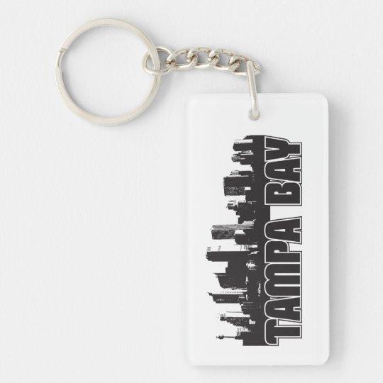 Tampa Bay Skyline Keychain
