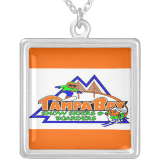 Tampa Bay Snow Skiers and Boarders Necklace