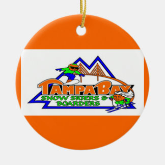 Tampa Bay Snow Skiers and Boarders Ornament