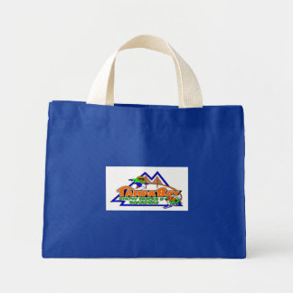 Tampa Bay Snow Skiers and Boarders Tiny Tote Mini Tote Bag