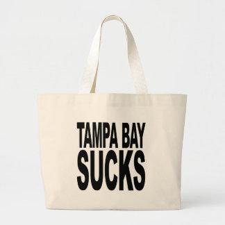 Tampa Bay Sucks Large Tote Bag