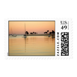 Tampa Bay sunset Stamps