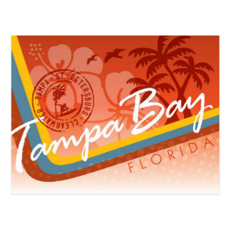 Tampa Bay Tropical Postcard