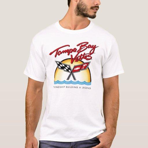 Tampa bay vettes t shirt zazzle for Tampa t shirt printing