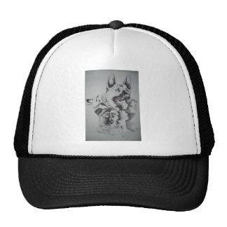 Tampa Canine Sketch by John Hart Trucker Hat