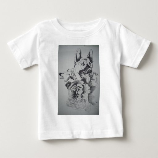 Tampa Canine Sketch by John Hart Infant T-shirt