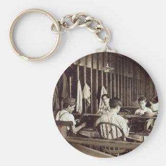 Tampa Cigar Boys, 1909 Basic Round Button Keychain