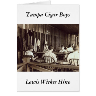 Tampa Cigar Boys, 1909 Card