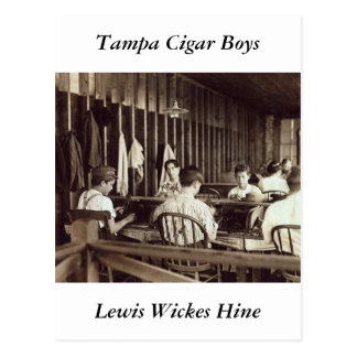 Tampa Cigar Boys, 1909 Postcard