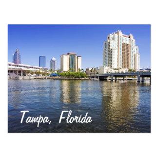 Tampa de la isla del puerto tarjetas postales
