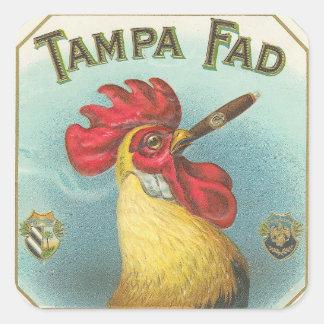 Tampa Fad Square Sticker
