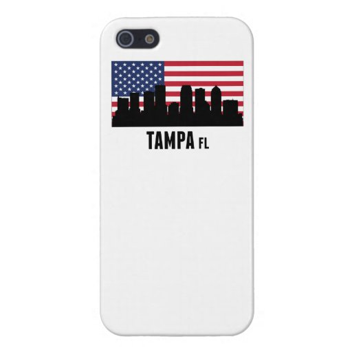 Tampa FL American Flag iPhone SE/5/5s Cover