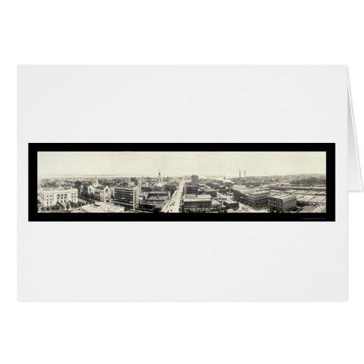 Tampa FL Panoramic Photo 1916 Card
