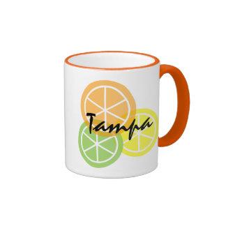 Tampa Florida Citrus OrangeLimeLemon Coffee Mug