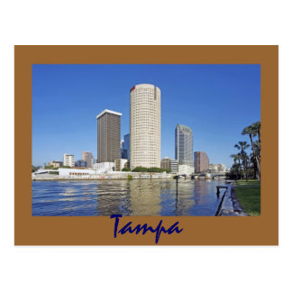 Tampa Florida, City of Champions Postcard