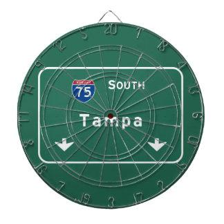 Tampa Florida fl Interstate Highway Freeway : Dartboard
