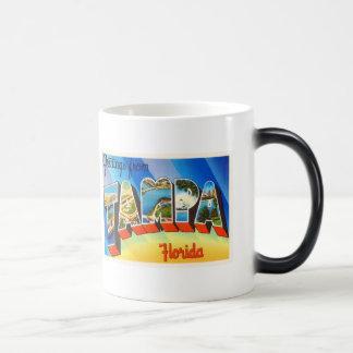 Tampa Florida FL Old Vintage Travel Souvenir Magic Mug