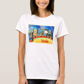 Tampa Florida FL Old Vintage Travel Souvenir T-Shirt