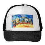 Tampa Florida FL Old Vintage Travel Souvenir Trucker Hat