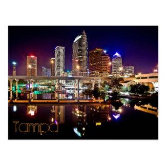 Tampa, Florida from the Platt Street Bridge. Postcard