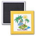 Tampa, Florida refrigerator magnet template