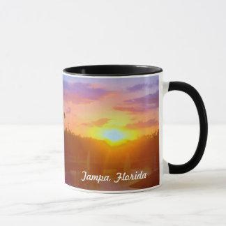 Tampa Florida Sunset mug
