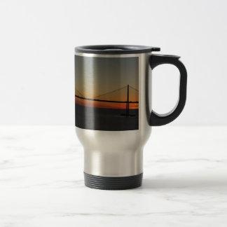 Tampa Florida Sunshine Skyway Bridge Sunset Coffee Mug