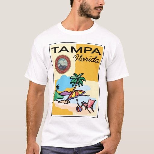 Tampa florida t shirt zazzle for Tampa t shirt printing
