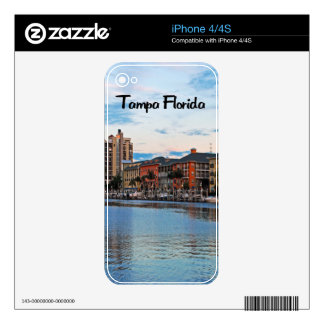 Tampa Florida Waterfront Decals For The iPhone 4
