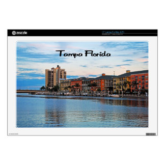 Tampa Florida Waterfront Laptop Decals