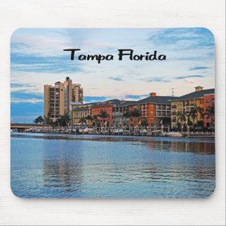 Tampa Florida Waterfront Mouse Pad