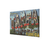 Tampa, FloridaLarge Letter ScenesTampa, FL Gallery Wrapped Canvas