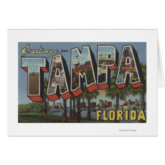 Tampa FloridaLarge Letter ScenesTampa FL Cards