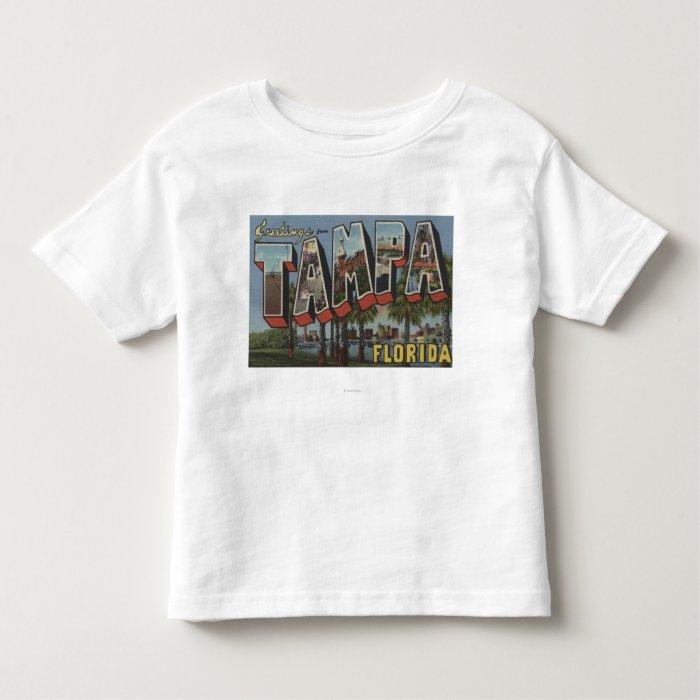 Tampa, FloridaLarge Letter ScenesTampa, FL Toddler T-shirt