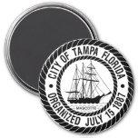 Tampa Fridge Magnet