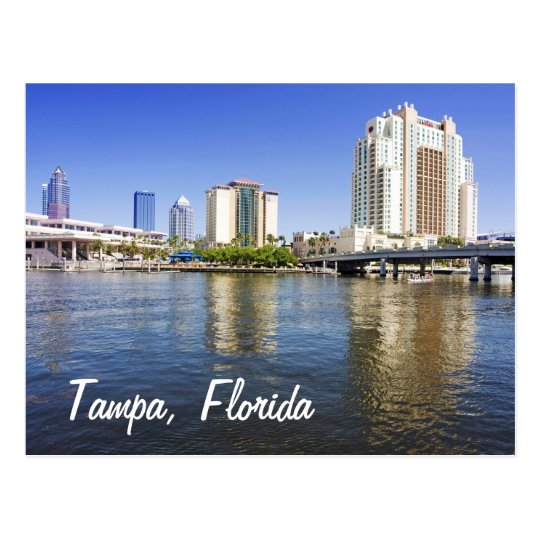 Tampa from Harbour Island Postcard