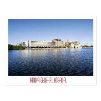 Tampa General Hospital Postcard