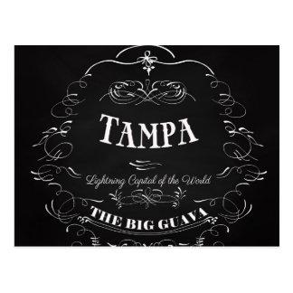 Tampa. La Florida - capital del relámpago del Tarjetas Postales