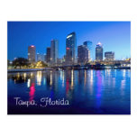 Tampa, la Florida en el amanecer Tarjeta Postal